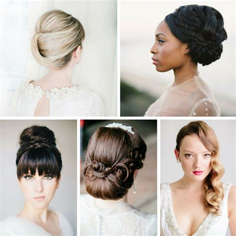 Vintage Bridal Updos by 25 Ridiculously Bridal Updos Chic Vintage Brides