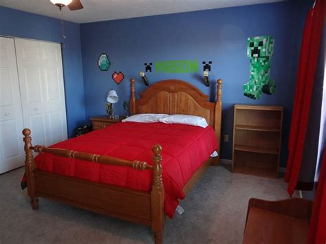 minecraft theme bedroom 1000 images about boys minecraft themed bedroom ideas on