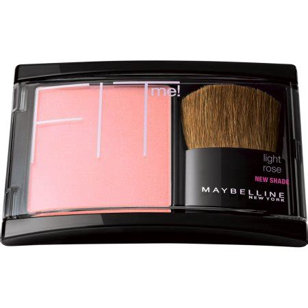 Blush On Maybelline Fit Me maybelline fit me blush 102 light 0 16 oz walmart