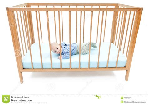 Baby Boys Crib by Two Months Baby Boy In A Crib Stock Images Image 16332274