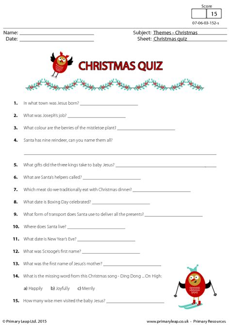 printable quiz for 12 year olds christmas fun quiz