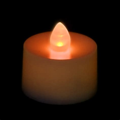 Tea Light Candle by Battery Operated Tea Light Candle Orange