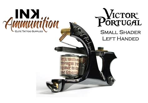 tattoo machine for left hand victor portugal small shader left handed