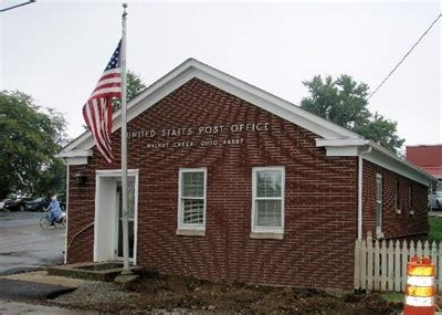 walnut creek oh 44687 u s post offices on waymarking