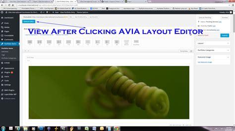 wordpress avia layout avia layout builder support kriesi at premium