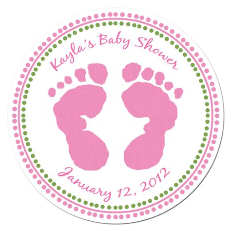 Baby Shower Stickers Template Baby Shower Sticker Labels Babyshower4u