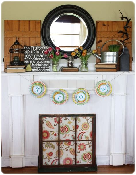What To Put On A Fireplace Mantel by Mantels Erin Spain