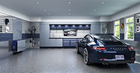 Garage Floor Designs dream garage designs 6 essential features that work