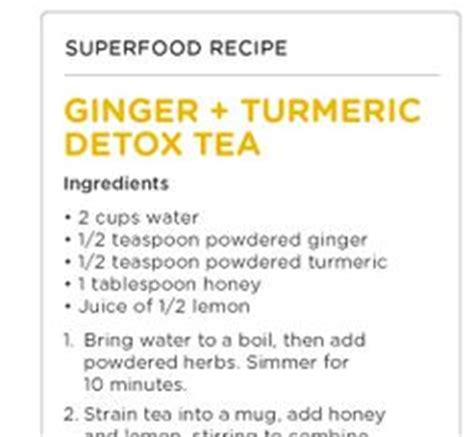 How To Make A Turmeric Detox Tea by 1000 Images About D E T O X On Detox Baths