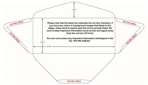 10 envelope printable area envelope printing services online print custom envelopes
