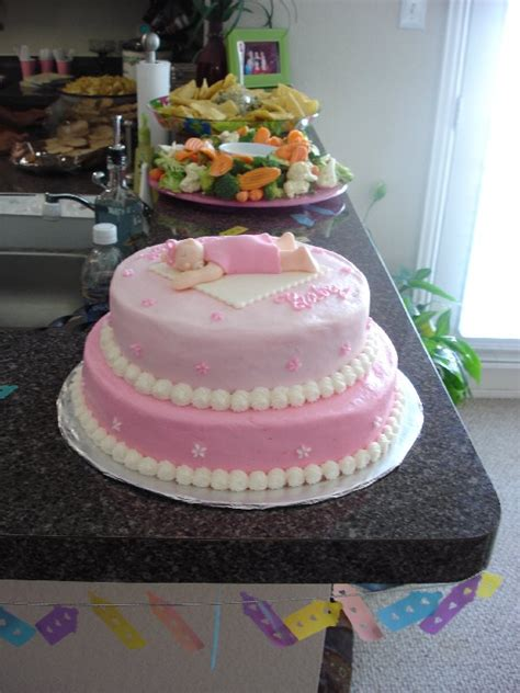 desperate for an easy fondant baby shower cake idea cakecentral com