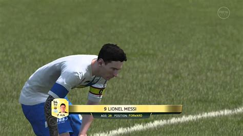 tattoo messi fifa ea sports fifa 16 messi tattoo s youtube