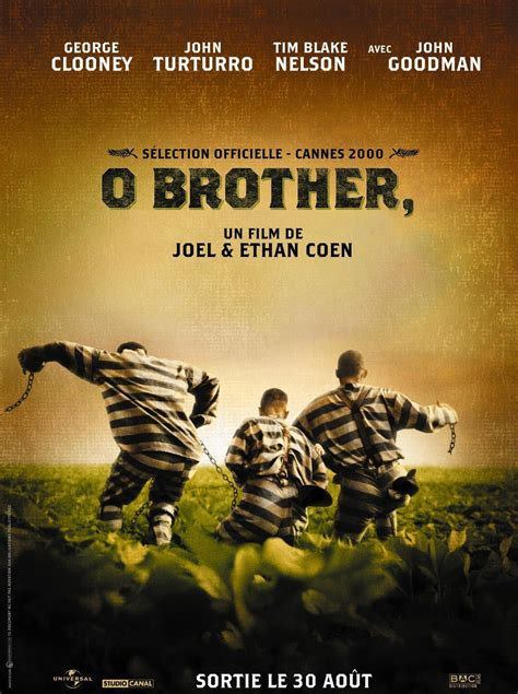 O Brother, Where Art Thou? (2000) - Posters — The Movie ... O Brother, Where Art Thou Movie Poster
