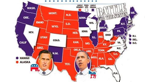 swing states 2012 obama and romney take aim at 9 swing states ny daily news