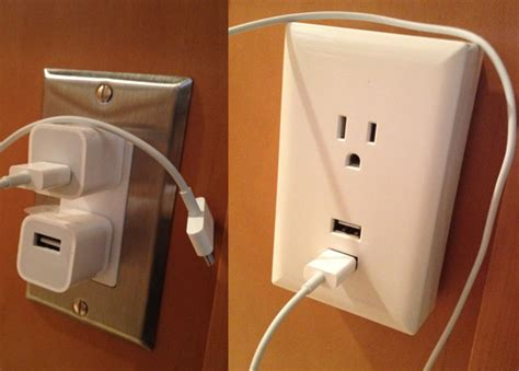 usb outlet wall plate chargers review rca usb wall plate charger terry white s tech blog