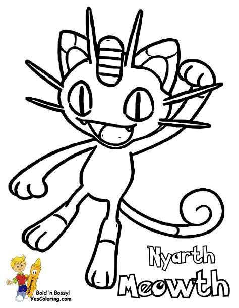pokemon coloring pages meowth non stop pokemon pictures nidoqueen arcanine boys