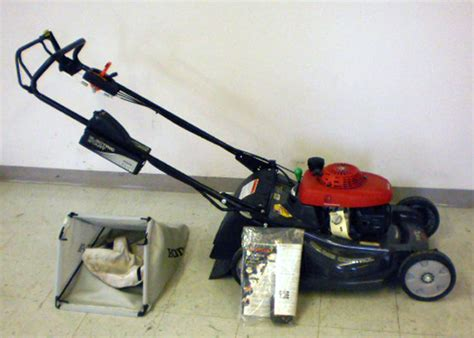 honda hrx 217 hma lawn mower mulcher w electric start