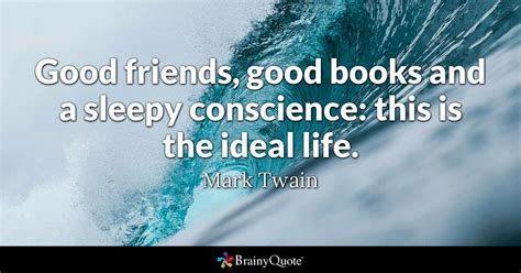 good friends good books   sleepy conscience