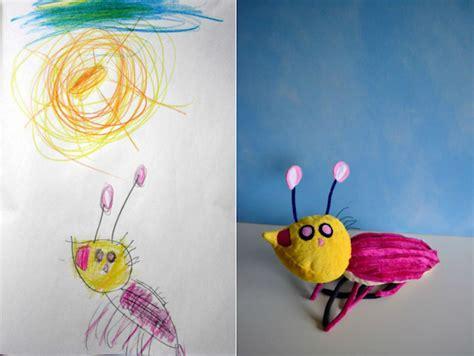 imagenes totalmente increibles artist transforms children s drawings into adorable plush toys