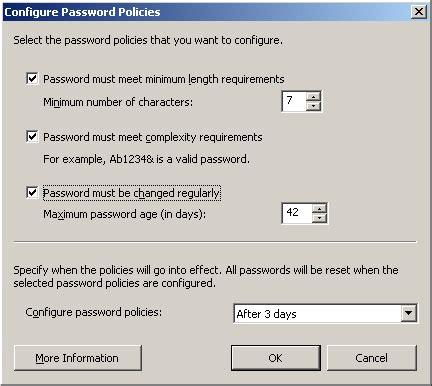 reset password on windows vista business configure windows small business server 2003 r2 remote