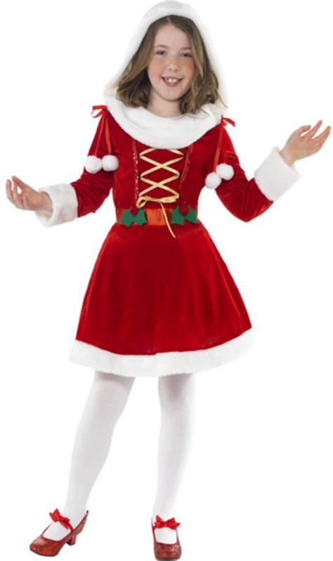 christmas costumes costume craze costumes for kids kids miss santa christmas fancy dress costume kids