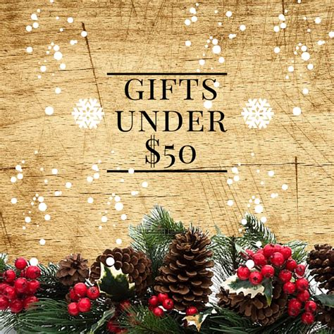 christmas gift guide 2015 under 50 timber to table