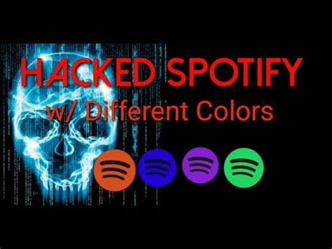 hacked spotify apk hacked spotify app premium different colors android