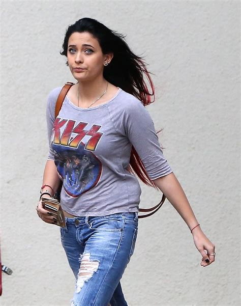 paris jackson in jeans paris jackson in ripped jeans out in malibu november 2015