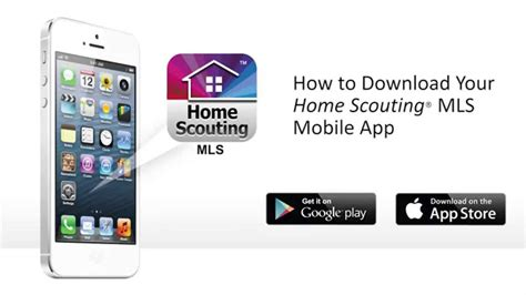 the home scouting app on an iphone