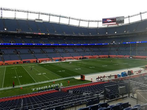 sports authority field sections sports authority field section 126 rateyourseats com