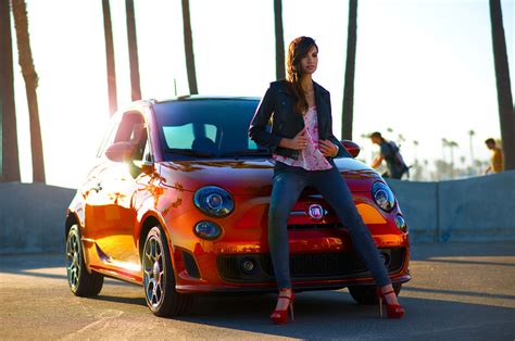 who is the woman in the fiat blue pill ad do you think the fiat 500 is more of a girls car or guys