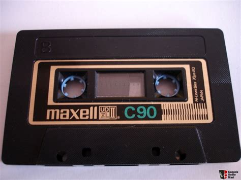 cassette maxell pin analogue maxell cassette on