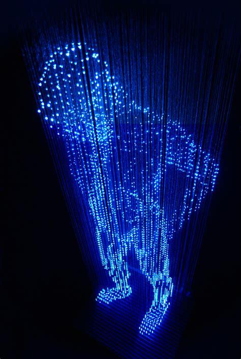 artistic lighting light sculptures by makoto tojiki colossal