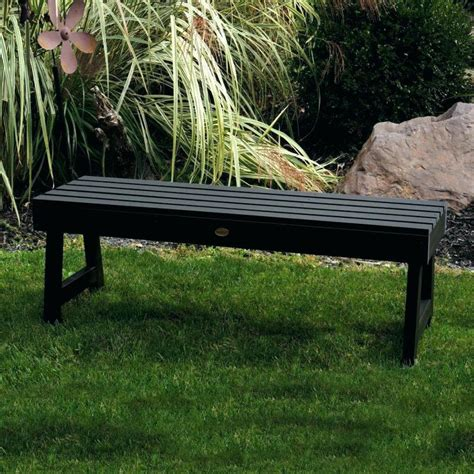 plastic patio bench outdoor benches target resin storage