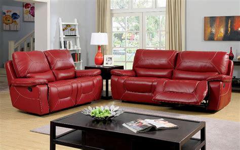 red leather sofa set 2 pcs red leather sofa set