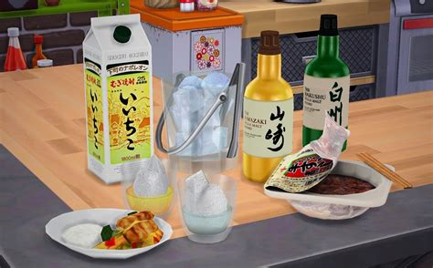 sims 4 food clutter my sims 4 blog food drinks decor by kimu412