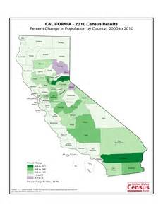 california population map california county population change map free