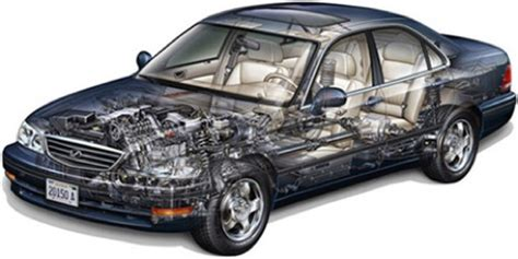 Car Section by Car Gas Engine Cross Section Car Free Engine Image For