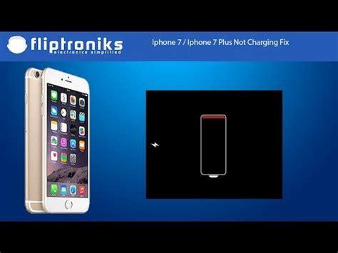 iphone not charging iphone 7 iphone 7 plus not charging fix fliptroniks