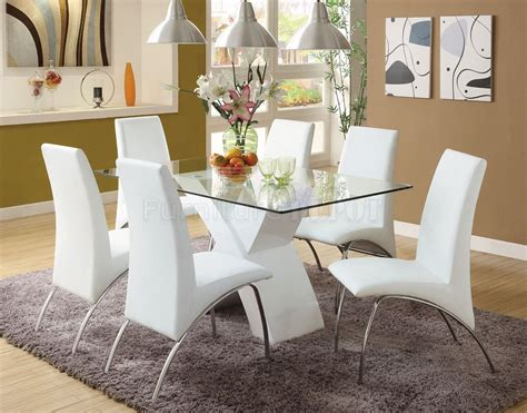White Dining Room Table Set | white dining room table set home furniture design