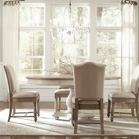 Coventry Dining Table Riverside Furniture Coventry Two Tone Dining Table In Dover White 32551 32552 32553 Kit