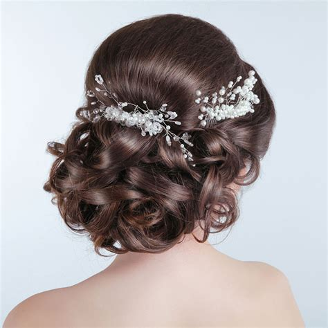 Wedding Hairstyles With Pearls by Traditional Wedding Styles For Hair Gallery
