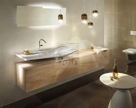 meubles de salle de bains suspendus simple vasque