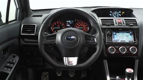 subaru rsti interior 2015 subaru wrx sti in depth explained interior exterior