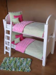 american doll beds american doll bunk bed with ladder and 10 bedding