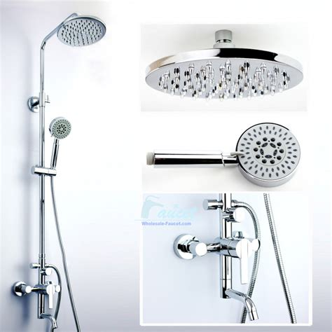 bathroom faucet and shower sets single handle wall mounted shower faucet set showerheads