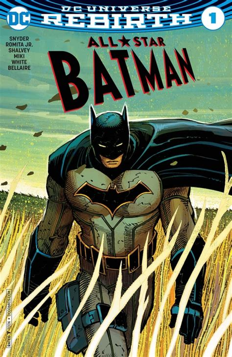 libro all star batman 2016 vol avance del primer n 250 mero de all star batman de dc comics