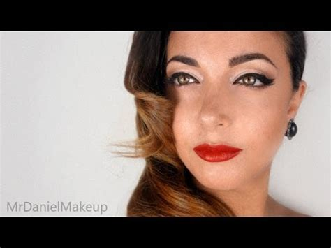 tutorial eyeliner anni 50 pin up anni 50 with my sister make up tutorial youtube