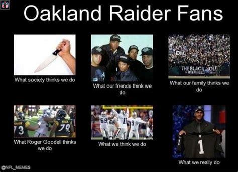 Raiders Fans Memes - nfl memes oakland raiders memes