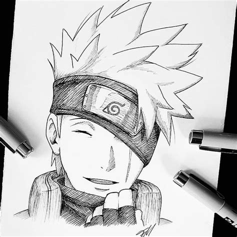 Drawing Kakashi by Kakashi Drawing Guys Kakashi Draw And Anime